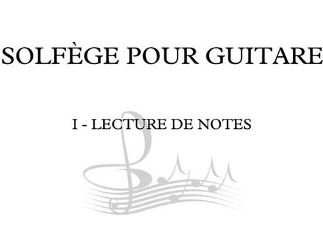 C'est quoi le Solfège pour Guitariste?