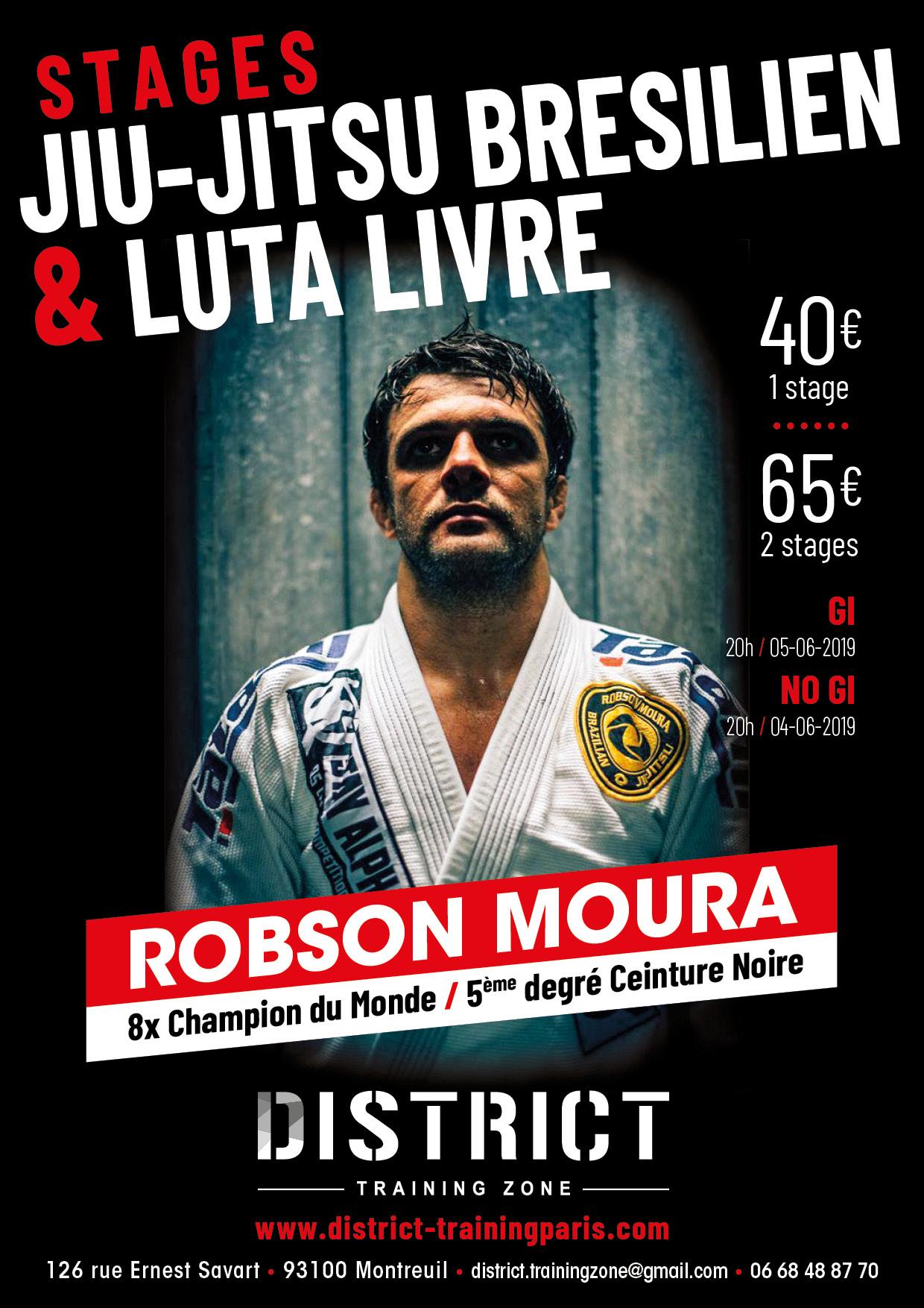 Stage Robson Moura GI & NOGI