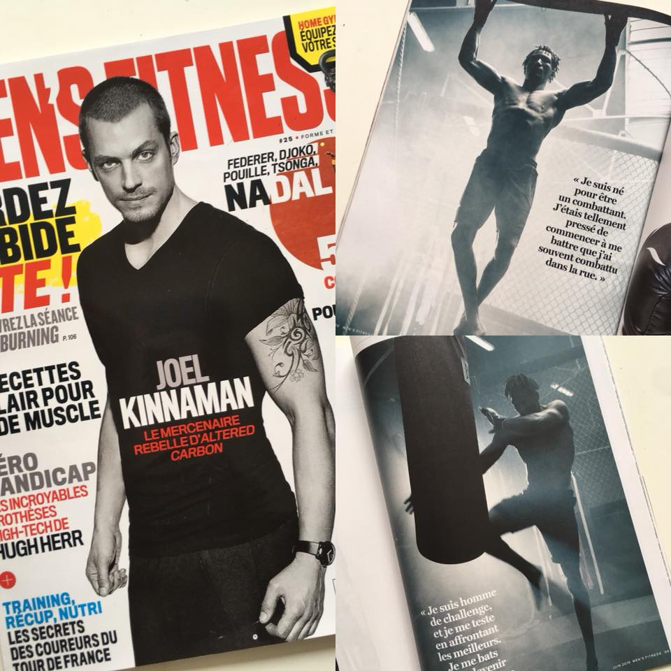 District  dans MEN'S FITNESS