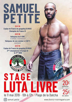 Samuel Petite stage Guadeloupe