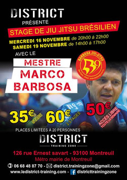 STAGE BARBOSA 2016