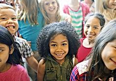 School Children Cheerful Variation Conce