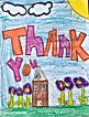 Thank you letter from a foster child to Fill a Heart 4 Kids!