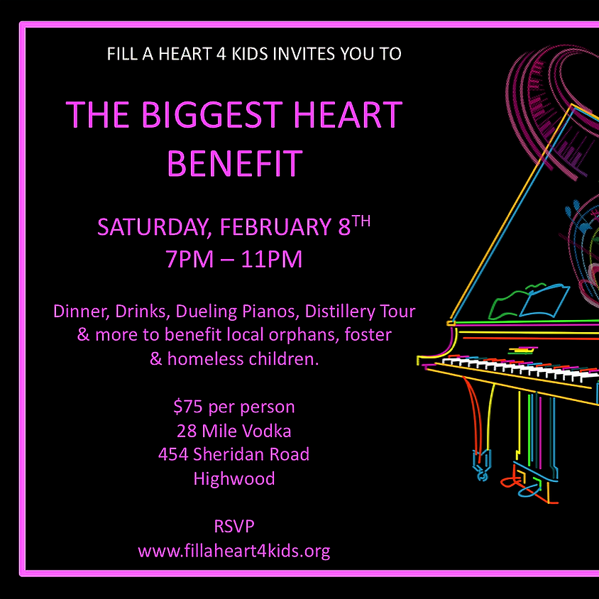 THE BIGGEST HEART BENEFIT