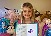 Children gave their birthday gifts to orphans and foster children at Fill a Heart 4 Kids!