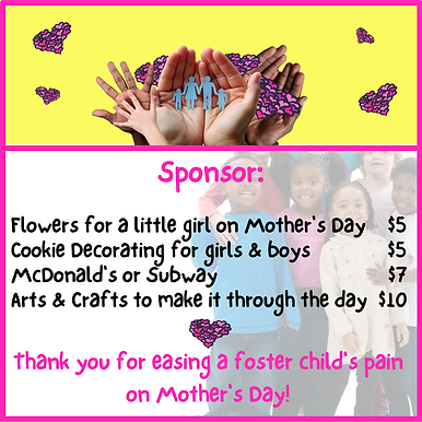 I LOVE YOU Mother's Day Invitation 2021