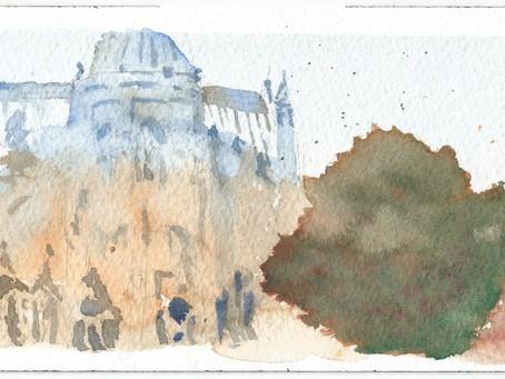 A Cathredal in Paris