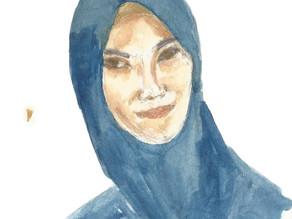 Sketching Self-Portrait