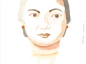 Ilustrasi Dewi Sartika