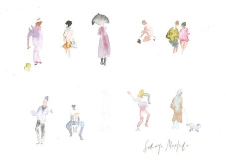 Belajar Sketch Orang