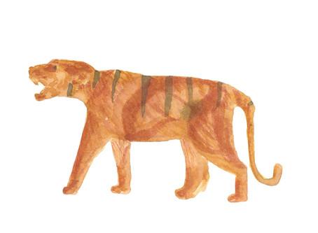 Sketsa Mainan Harimau