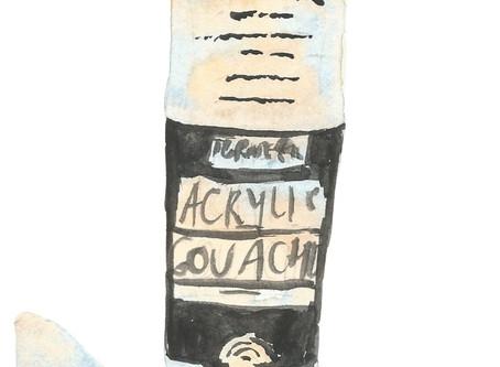 Sketsa Acryla Gouache