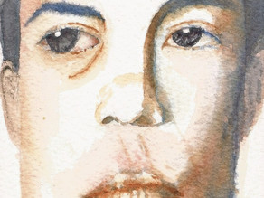 Sketsa Watercolor Jenderal Soedirman