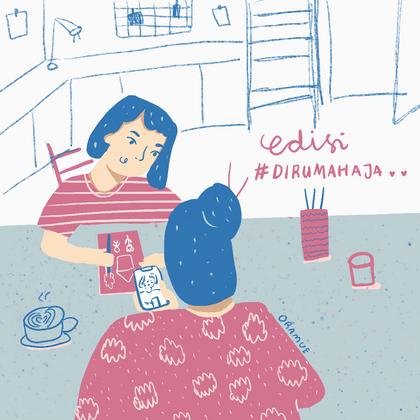 Editorial - Belajar di Rumah