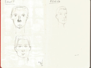 belajar lagi tentang Proporsi Wajah