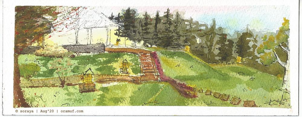 Gambar puncak pass resort ilustrasi soraya oramuf