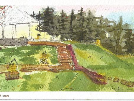 Latihan Sketch Puncak Pass Resort