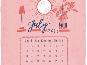 Membuat Kalender di Procreate