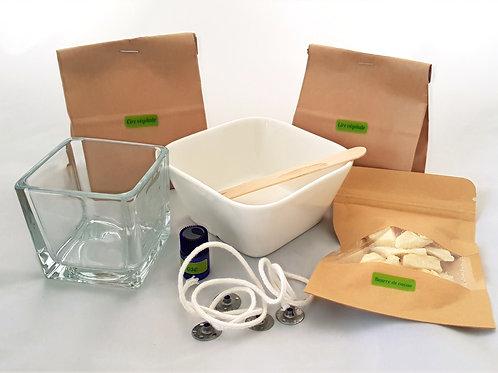 Box bougie de massage ou d'intérieur Maison