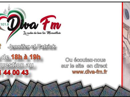 Interview Voyance Diva Fm Marseille avec le médium voyant Patrick