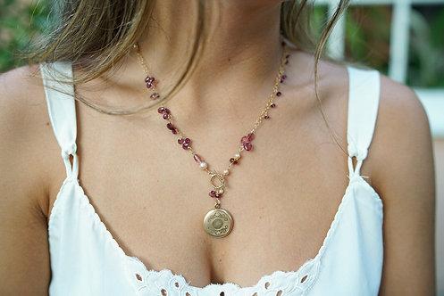 Gia Locket Necklace