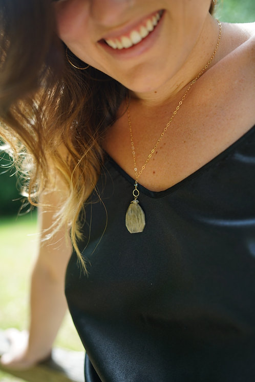Holly Labradorite Necklace