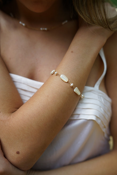 Claire Mother of Pearl Bracelet