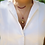 Thumbnail: Georgette Ruby and Topaz  Heart Locket Necklace