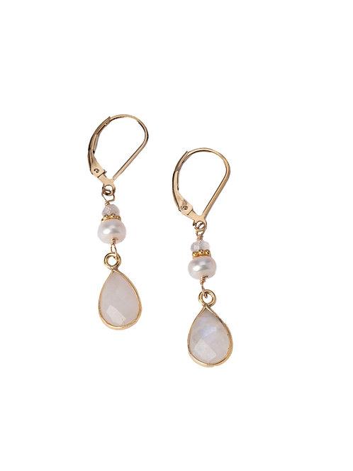 Mia Moonstone Earrings