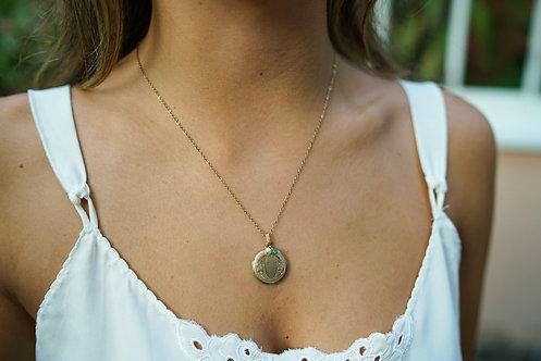 Elizabeth Locket Necklace