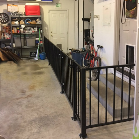Pet-Fencing-in-Garage-Exclosure