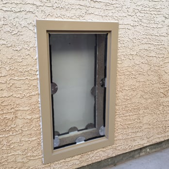 Doggie-Door-in-Stucco