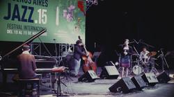 Luciana Morelli quinteto en el Festival Internacional de Jazz de Buenos Aires