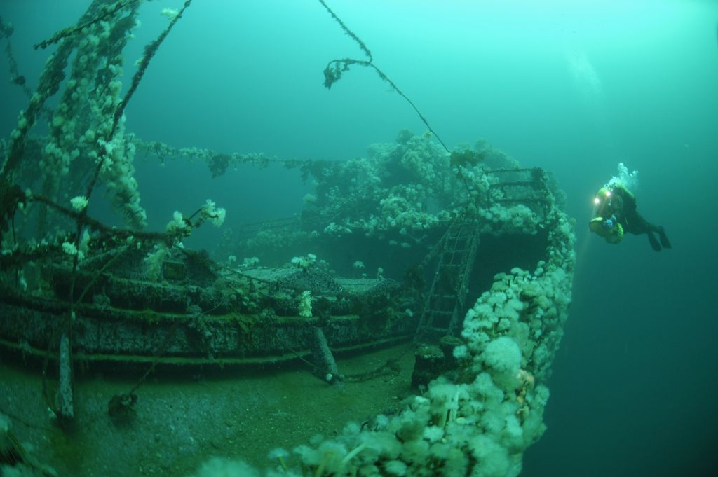 ww2 shipwrecks