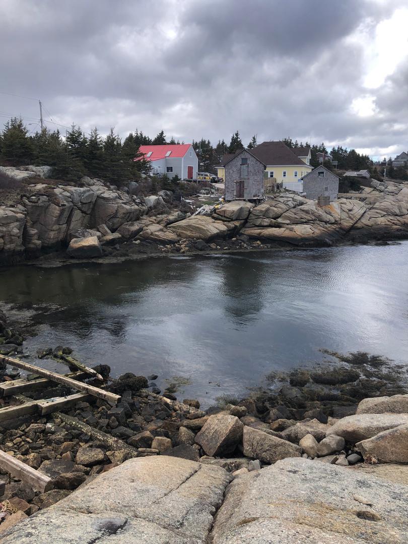 Portuguese Cove Slip Enterance