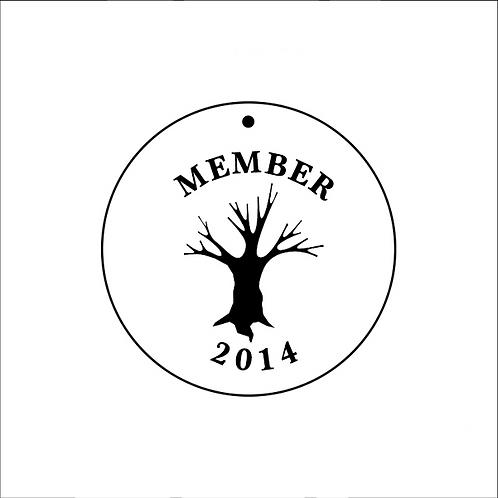 GDBC 2014 Member's Necklace
