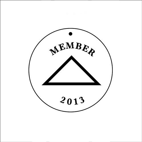 GDBC 2013 Member's Necklace