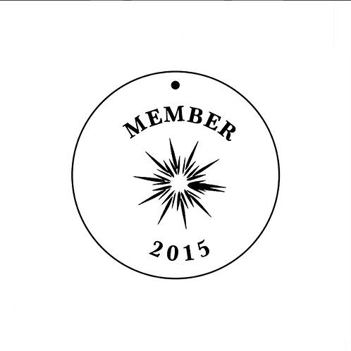 GDBC 2015 Member's Necklace