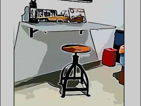 איך לעבוד מהבית - שולחן עבודה לחלל קטן