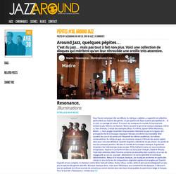 Jazzaround Illuminations avril 2019