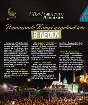 Ramazanda Konya'ya gelmek için 9 neden