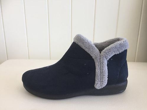 Scholl Dream Slippers - Navy