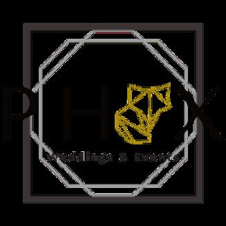 Phox Weddings and Events Logo