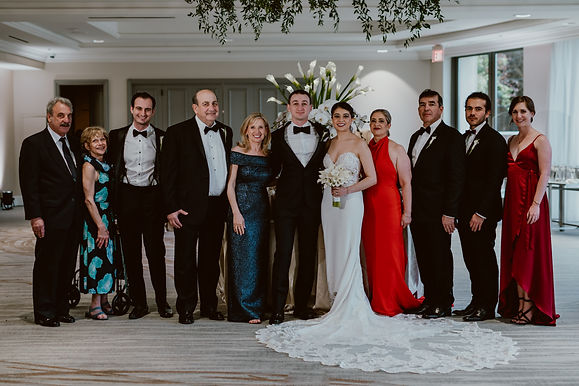 Partial wedding planning in Austin at The Four Seasons