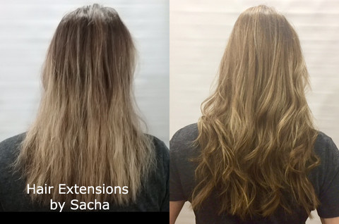 hair extensions by sacha