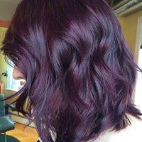 Carla purple hair photo