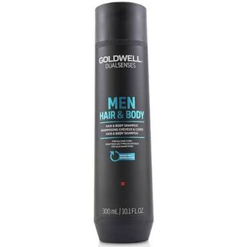 Dualsenses Mens Hair And Body Shampoo