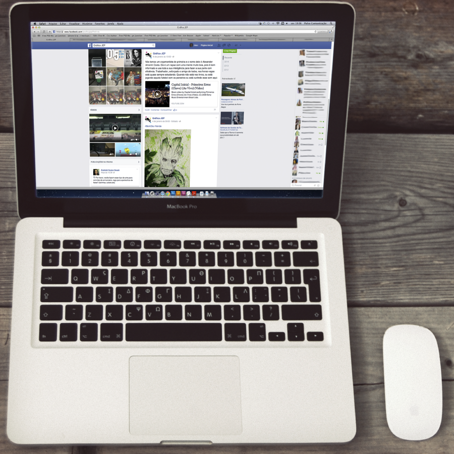 Redes Sociais - Facebook