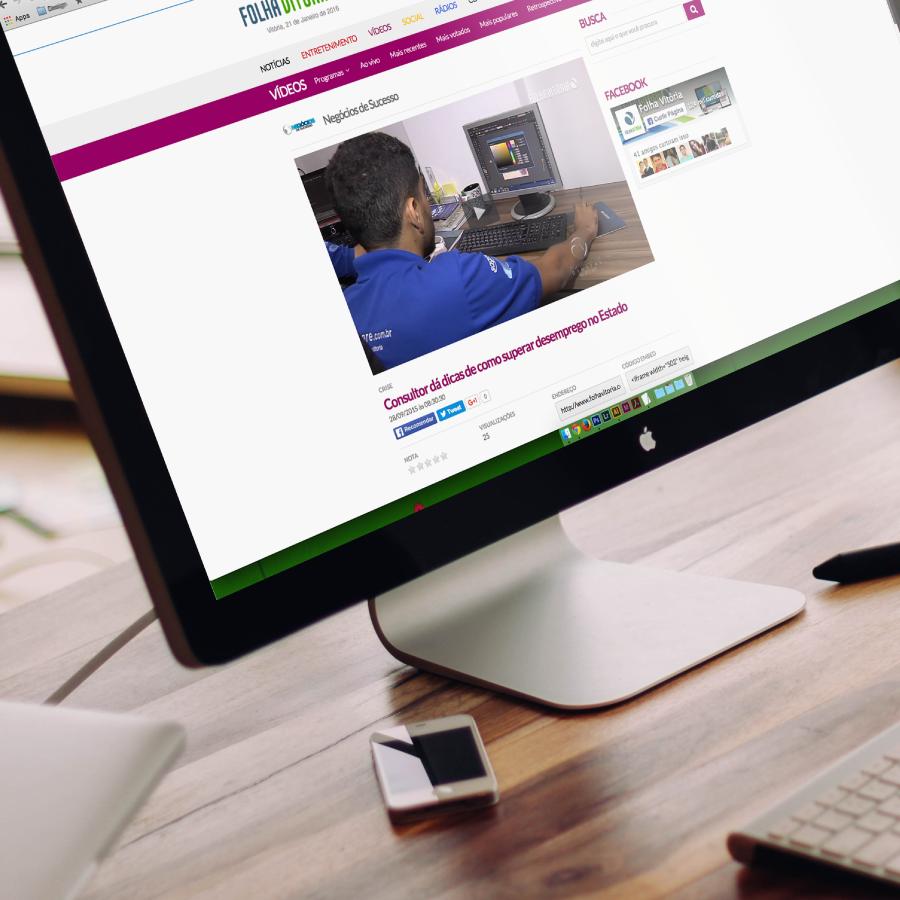 Assessoria de Imprensa - Web e TV