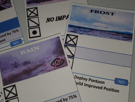 OSG Napoleon Invades Spain Weather Cards